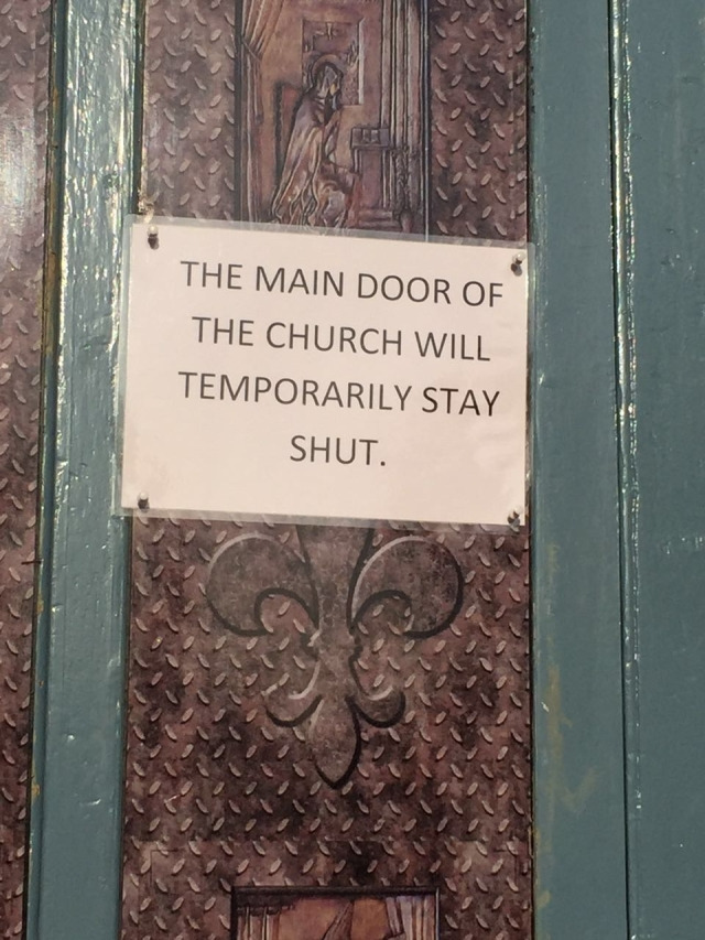 Shut Door of Mercy