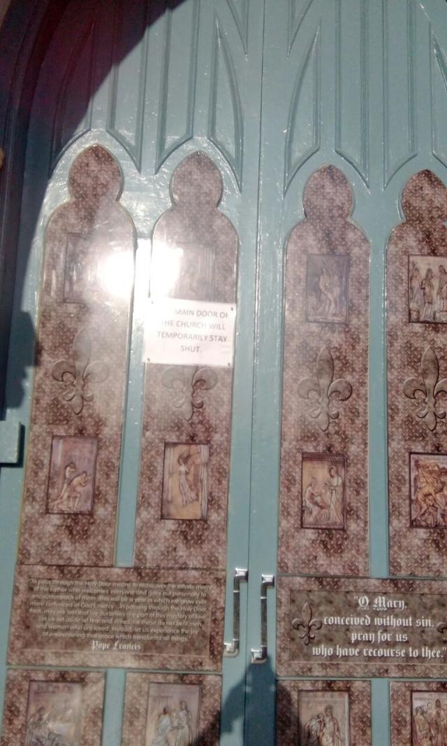 Door of Mercy Shut
